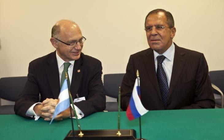 Lavrov vyzdvihl vysokou úroveň rusko-českých vztahů