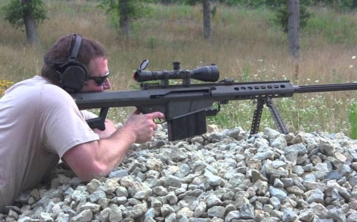 USA schválily export ,,smrtících&quote; odstřelovačských pušek Barrett M107 A1 Ukrajině