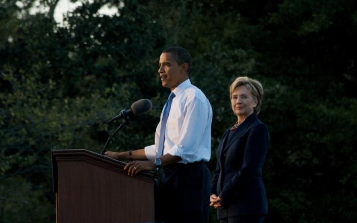 Průzkum: Američané nejvíce obdivují Obamu a Clintonovou