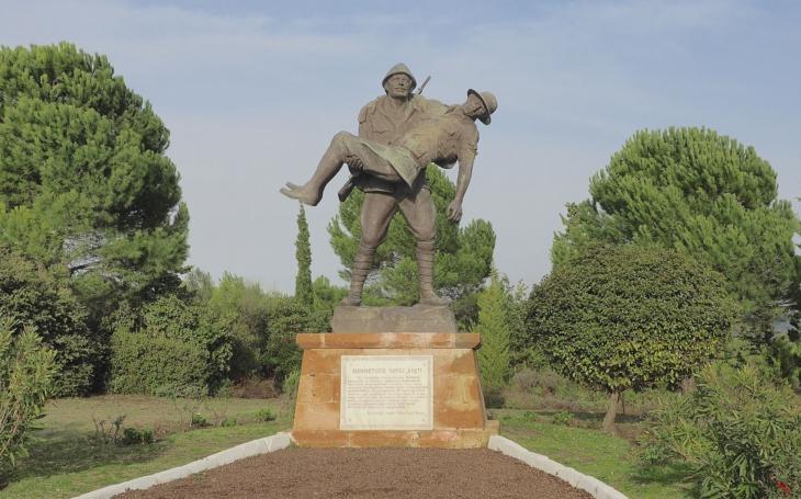 (VIDEO) Bojiska z bitky o Gallipoli z pohľadu dronu