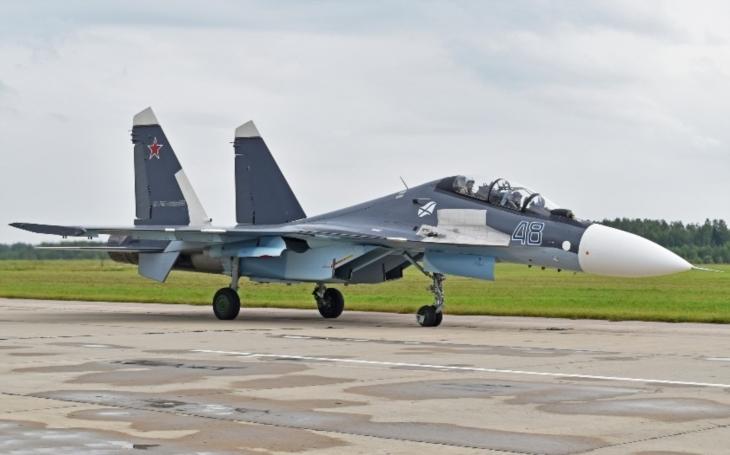 Rusům se u Sýrie zřítila stíhačka Su-30SM