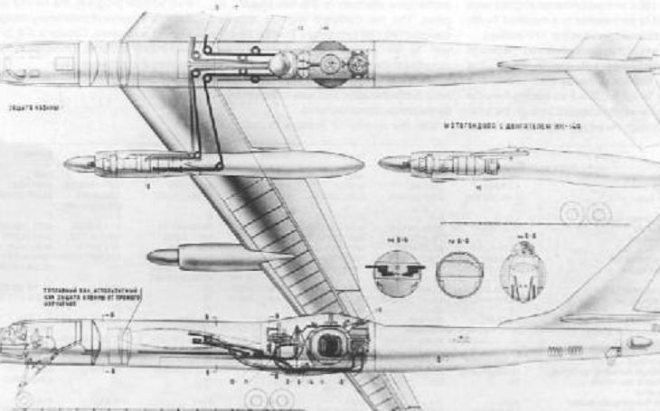 Sovětský jaderný bombardér mohl vydržet ve vzduchu po dobu, než zemřela posádka na ozáření