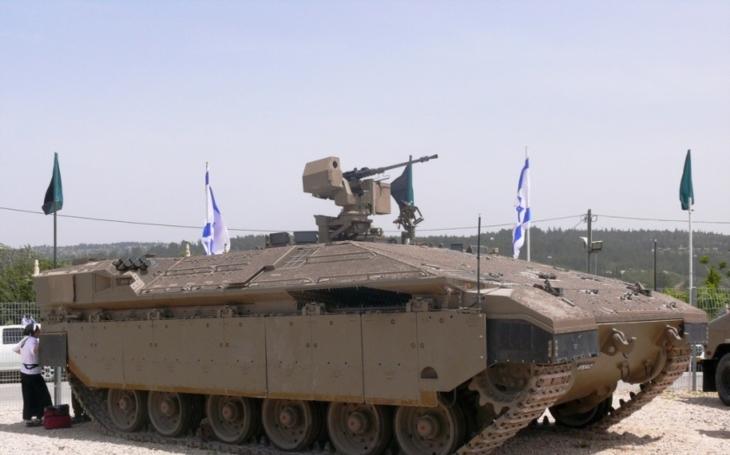 Izraelská Brigáda Givati dostane špičkové obrněné transportéry Namer