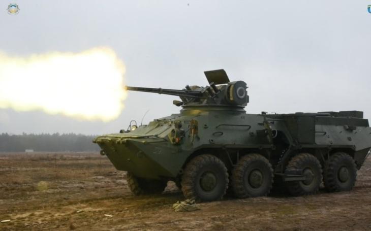 Ukrajina převzala dodávku 50 obrněných transportérů BTR-3DA