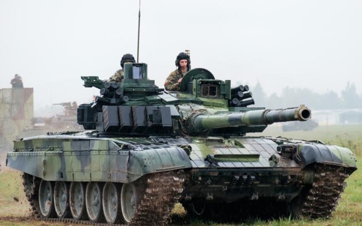 VOP CZ zajistí opravy a provozuschopnost tanků T-72M4 CZ