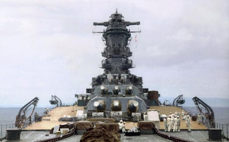 Musashi: bitevní loď, která při svém spuštění 1. listopadu 1940 zaplavila Nagasaki