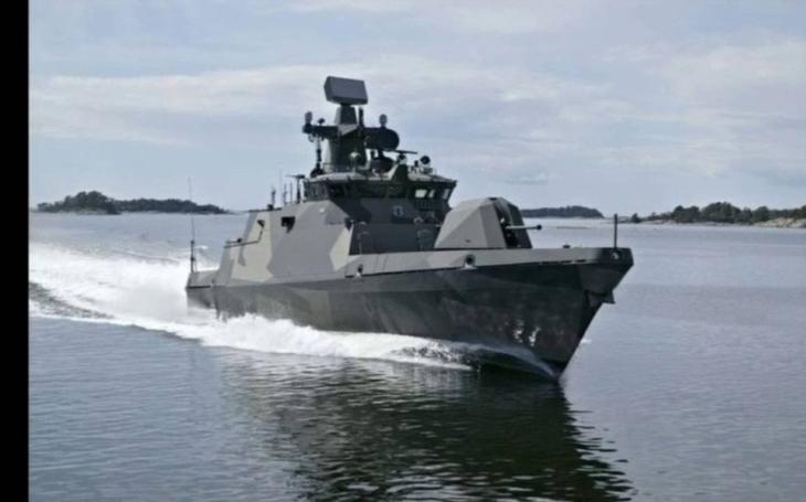 Patria zmodernizuje finskou třídu raketových člunů Hamina