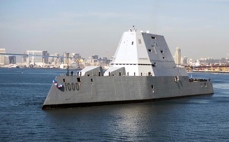 Revoluční americký torpédoborec stále nemá čím střílet