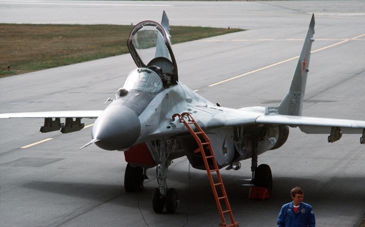(VIDEO) Vertikálny štart stíhačky Mig-29 zblízka
