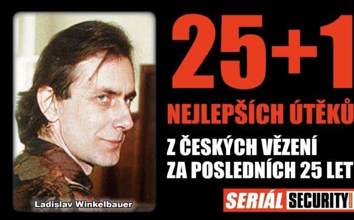 Spoutal policisty, ukradl jim zbraň i legitimaci. Jak vrah a útěkář Ladislav Winkelbauer přelstil eskortu