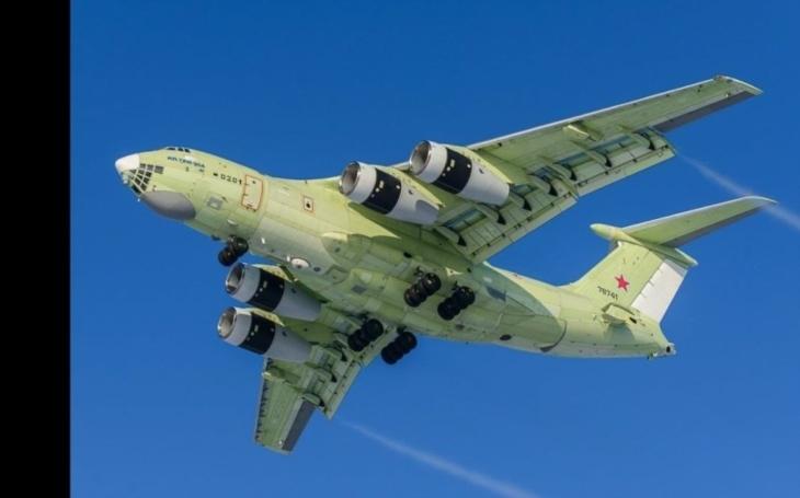 Nový ruský vzdušný tanker Il-78M-90A absolvoval svůj první let