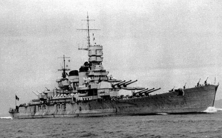 Nacistická řízená puma Fritz X a konec bitevní lodi Roma
