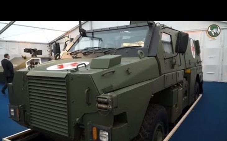 Společnost Thales představila nové obrněné vozidlo Bushmaster MR6