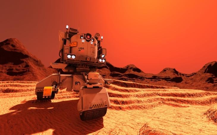 (Video 360°) Červená planéta zblízka
