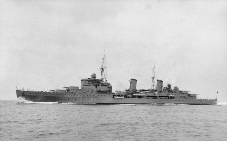Komu připadl sovětský zlatý poklad z britského křižníku HMS Edinburgh?