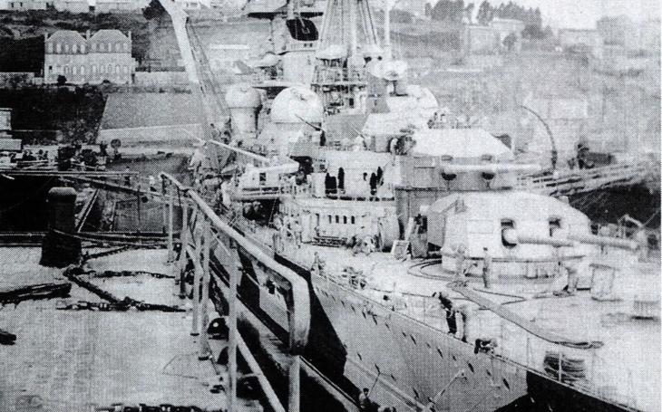 Český pilot, který zasáhl bombou nacistický těžký křižník Prinz Eugen