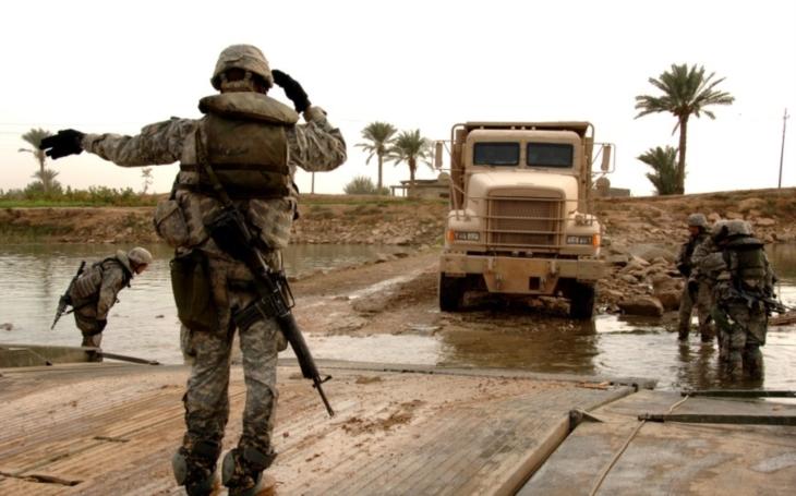 AP: Část americký jednotek se začala stahovat z Iráku
