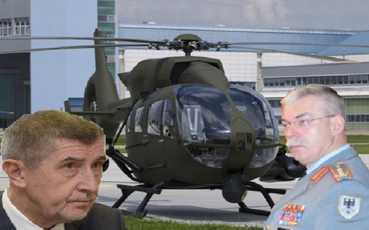 EXKLUZIVNĚ: Proč skončil tendr na vrtulníky? Roli může hrát tajná schůzka Babiše s německým generálem