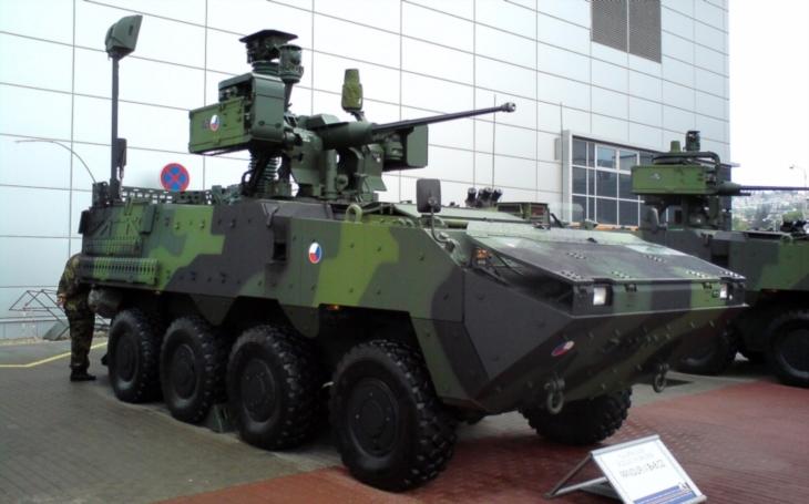 Bude mít armáda munici pro Pandury a BVP?
