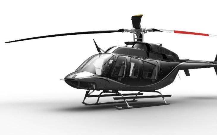 Společnost Bell na Heli-Expo 2018 představila nový vrtulník Bell 407GXi