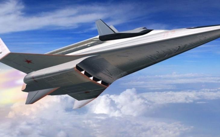 Putinův ,,tajný trumf&quote;. Rusko vyvíjí supersonický stíhač na dlouhou vzdálenost. A pilota není třeba