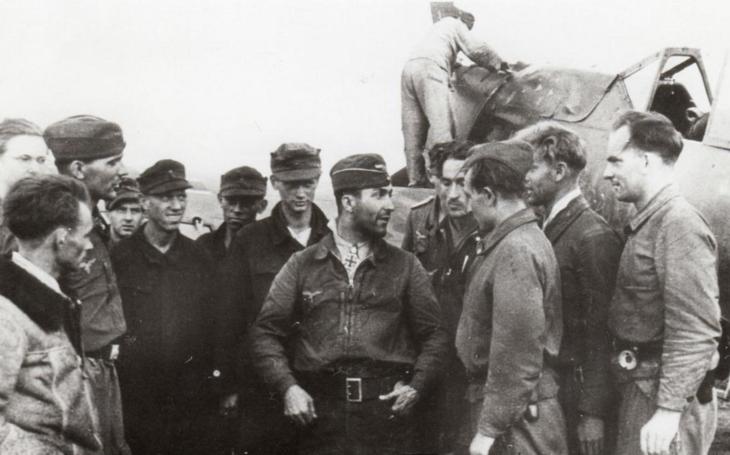 Nejúspěšnější Göringův lovec sovětských šturmoviků pocházel ze Sudet