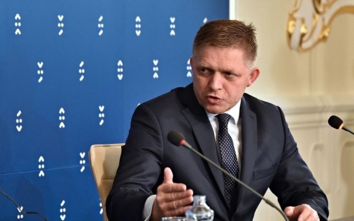 Slovenský premiér Fico by již dnes mohl podat demisi