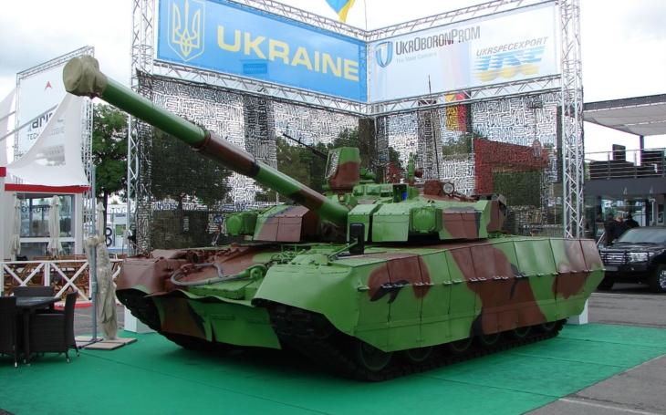 Nová škála modernizovaných ukrajinských T-84 je takmer pripravená