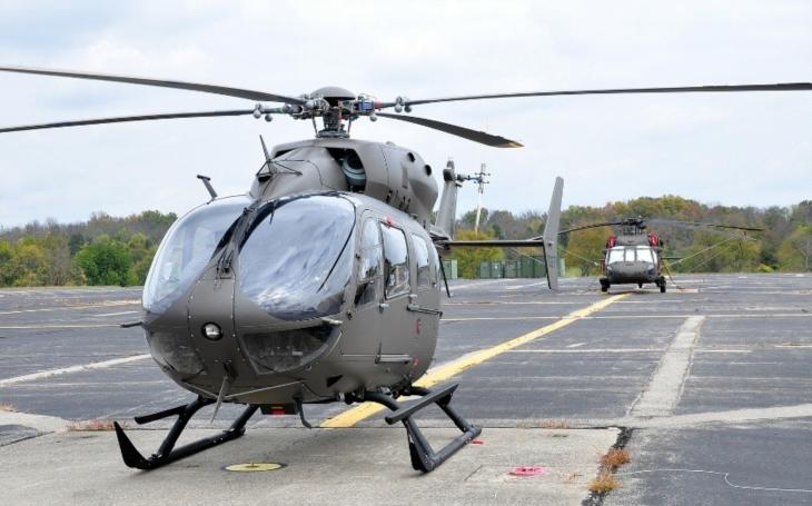 Americká armáda objednala dalších 35 dvoumotorových víceúčelových vrtulníků Eurocopter UH-72A Lakota