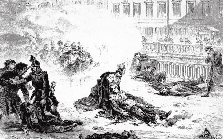 Car Alexandr II., milovaný svým lidem, byl zabit levicovým atentátníkem