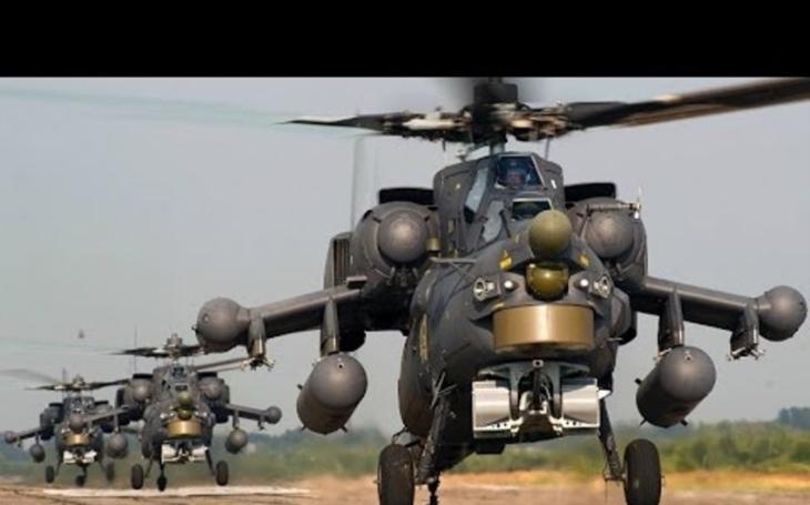 Vzdušně-kosmické síly Ruské federace posílí na konci roku moderní útočné vrtulníky Mil Mi-28NM