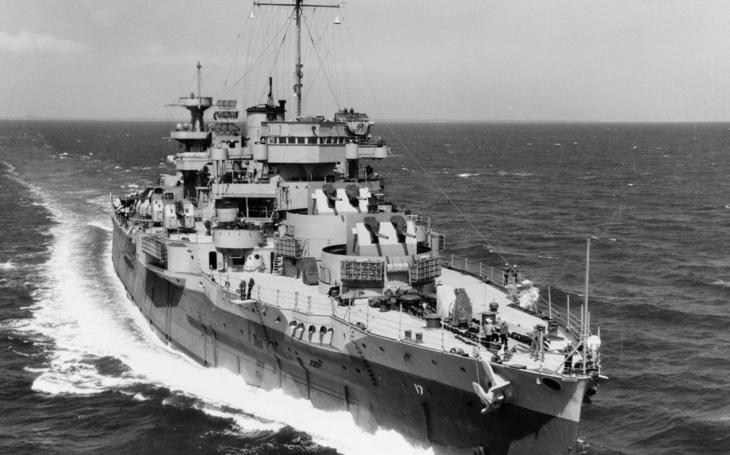 Bitevní loď USS Wyoming vypálila za 2. světové války víc nábojů než ostatní lodě US Navy