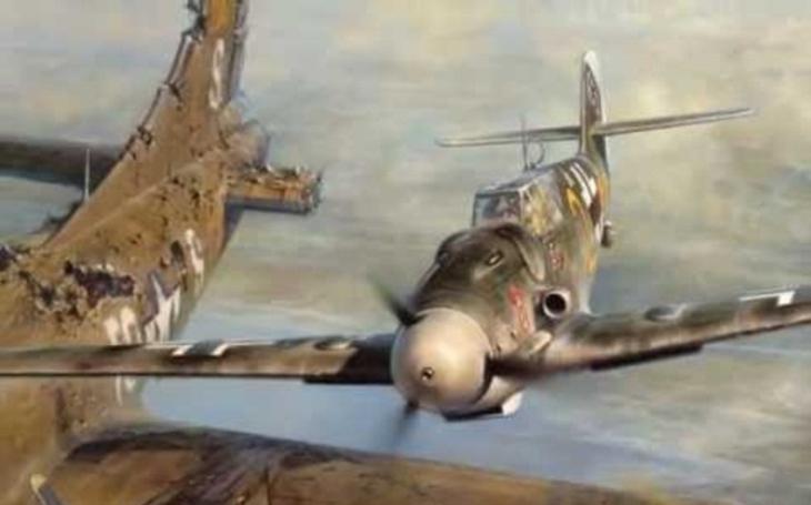 VIDEO: Vánoční ,,zázrak&quote; nad Brémami. Německé stíhací eso zachránilo posádku amerického bombardéru B-17