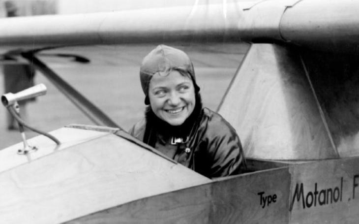 Hanna Reitsch - Hitlerova pilotka a první žena, která pilotovala vrtulník, raketové i proudové letadlo, zemřela před 40 lety
