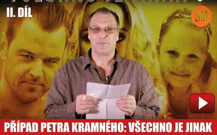 """VIDEO: Seriál Případ Petra Kramného, všechno je jinak, II. díl: Dopis zvězení. Co napsal Kramný o titulku """"Vraždila Monika Kramná?"""""""