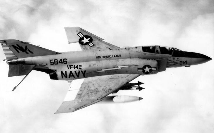 V roce 1970 sestřelil poprvé absolvent legendárního Topgunu nepřátelský MiG