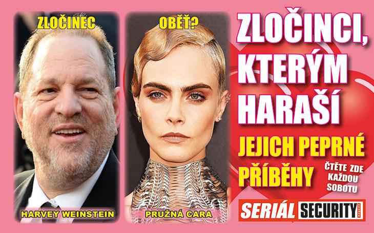 """Geniální producent Weinstein čelí přívalu akčních žen: """"Já to nebyl!"""" Ona: """"Chtěl, abych se sní líbala."""" Úchyl na útěku"""