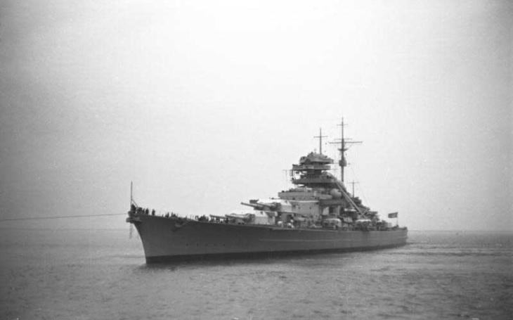 Bismarck - niekdajšia pýcha Kriegsmarine