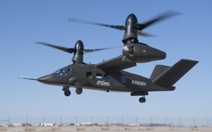 Rekord letounu Bell: V-280 Valor dosáhl pravé vzdušné rychlosti 518 km