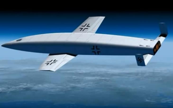 Tajné zbraně Třetí říše - bombardér Silbervogel