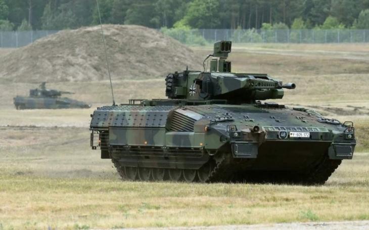 VIDEO: Bojové vozidlo Puma - SM byl exkluzivním hostem na cvičení Bundeswehru