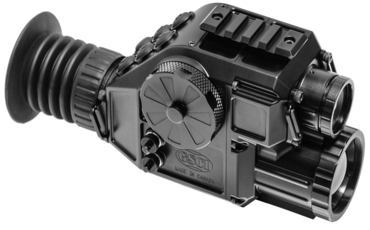 Kanadská společnost GSCI představí na veletrhu obranné techniky DSA kompaktní fúzní zaměřovač pro taktické sledování a pozorování
