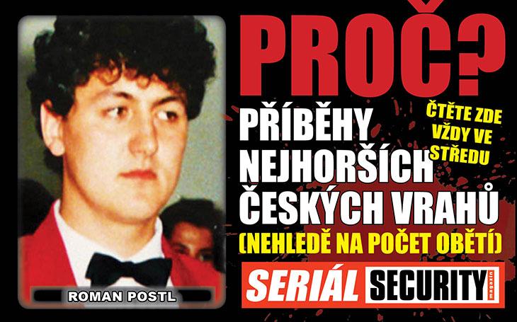 Vraždil podle filmu: Úchyl Roman Postl (†39) byl zastřelen  uprostřed svého zrůdného plánu zabít SEDM lidí