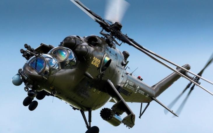 Pákistánské letecké síly obdržely od Ruska čtyři bitevní vrtulníky Mi-35
