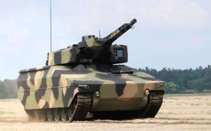 Exkluzivně: Největší německá zbrojovka Rheinmetall chce bojová vozidla pro armádu vyrábět v Česku