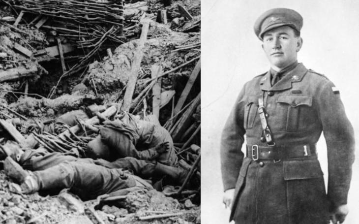 &quote;Tlouštík&quote; Dominic McCarthy zlikvidoval 3 kulomety, zabil 20 a zajal 50 Němců