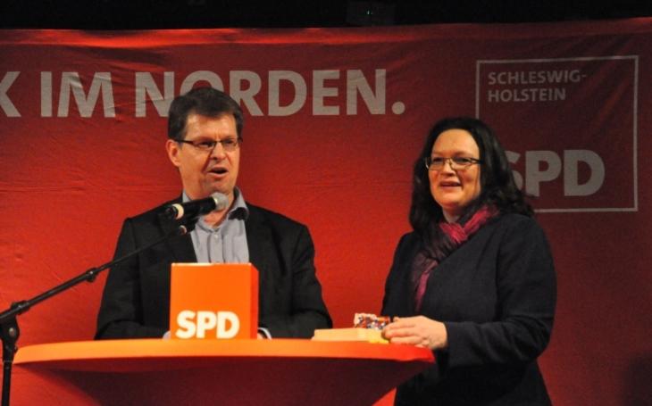 Německou SPD povede Andrea Nahlesová jako první žena