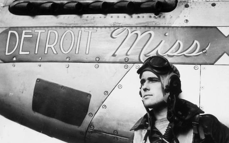 Ben Drew: jediný spojenecký pilot, který sestřelil dva proudové Me-262 v jednom dni