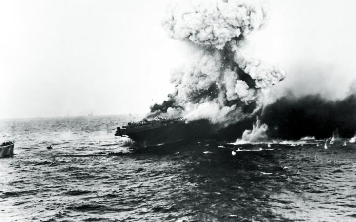 V bitvě v Korálovém moři se nepřátelská loďstva ani na okamžik neviděla
