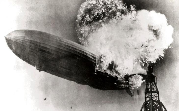 VIDEO: Když kolos shoří jako papír. Tragédie Hindenburgu ukončila éru vzducholodí